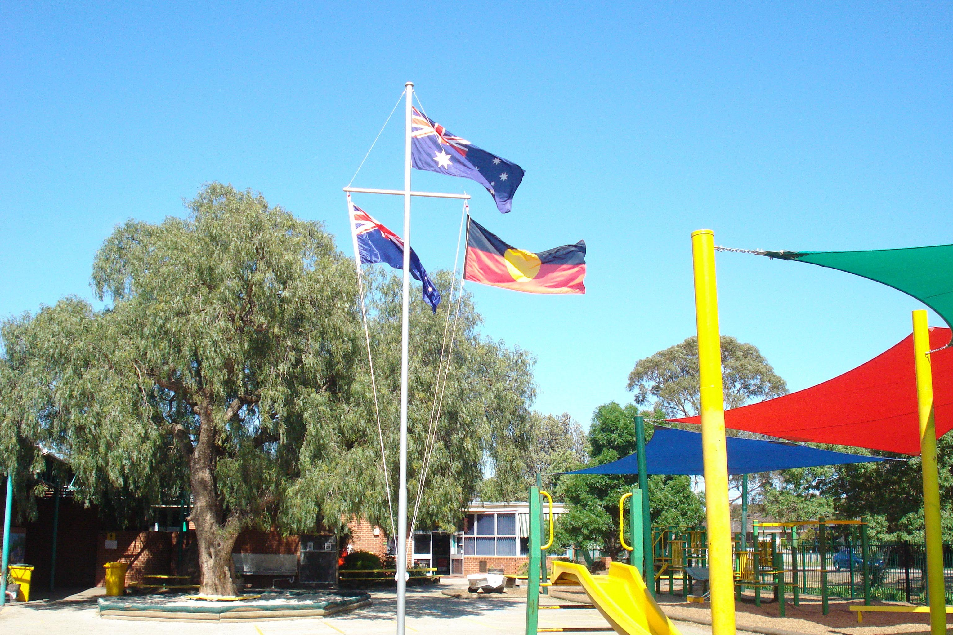 Yardarm Lamer Flag Poles And Banner Poles And Goal Posts